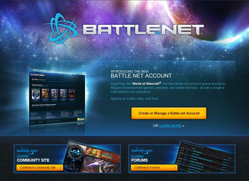 Unified Battle Net Accounts | Banana Shoulders